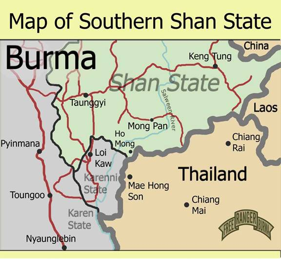 rape  narcotics and oppression in shan state  burma