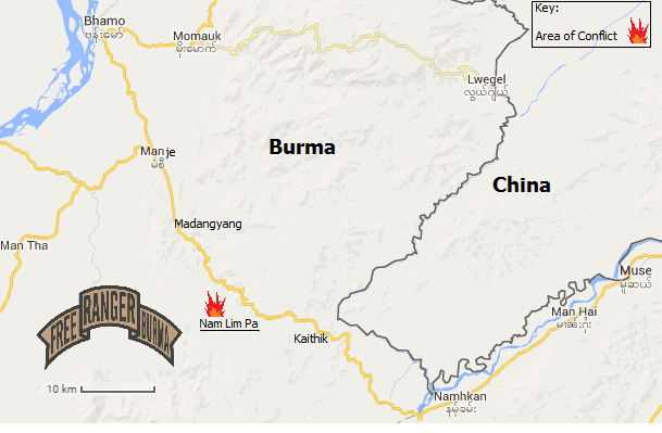 Major Conflict Ongoing In Northern Burma