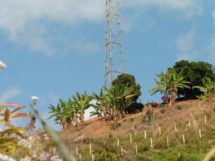 Burma Army camp overlooking Maw Chee.