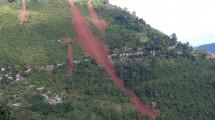 Landslide that killed 26 people.