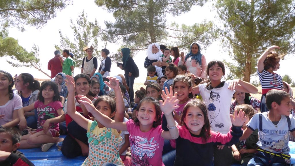 Orphan Children and Good Life Club program in Kobane
