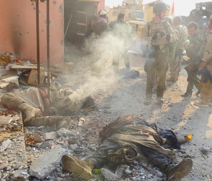 Kurdistan Dispatch No  1: Civilians Trapped by ISIS as Kurds Advance