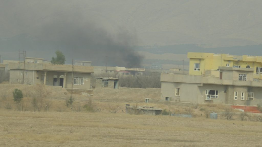 Town of Omar Qamshi as ISIS defends it Photo; FBR
