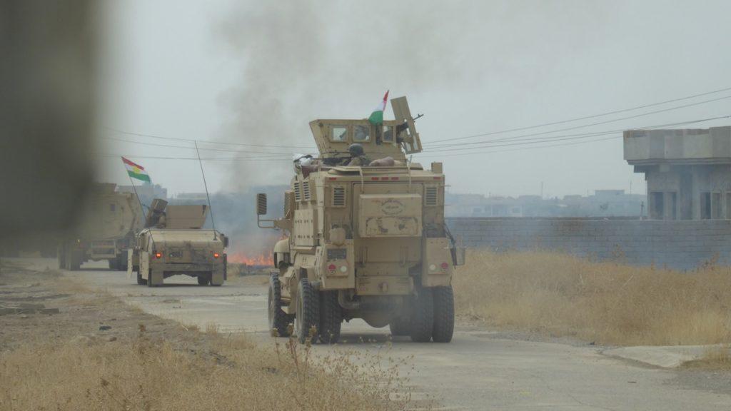 Kurds advance on Omar Qamshi Photo; FBR