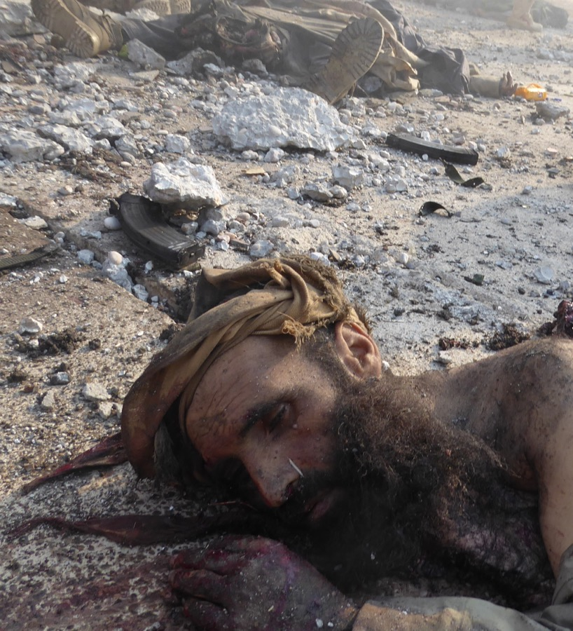 ISIS dead Photo; FBR