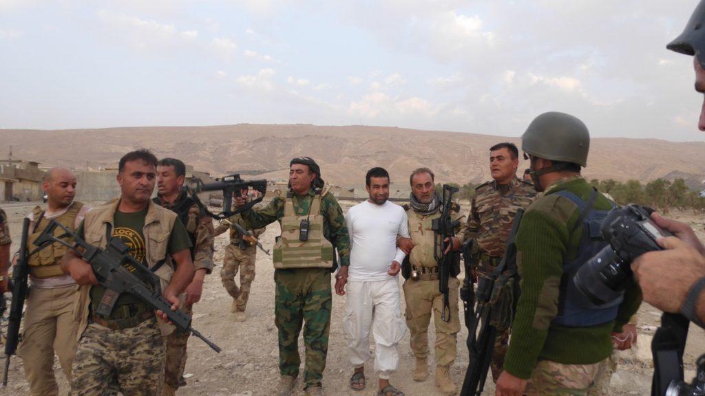ISIS prisoner.