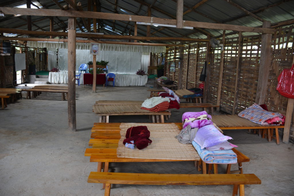 24 hour prayer room in Maga Yang IDP camp. Photo: FBR.