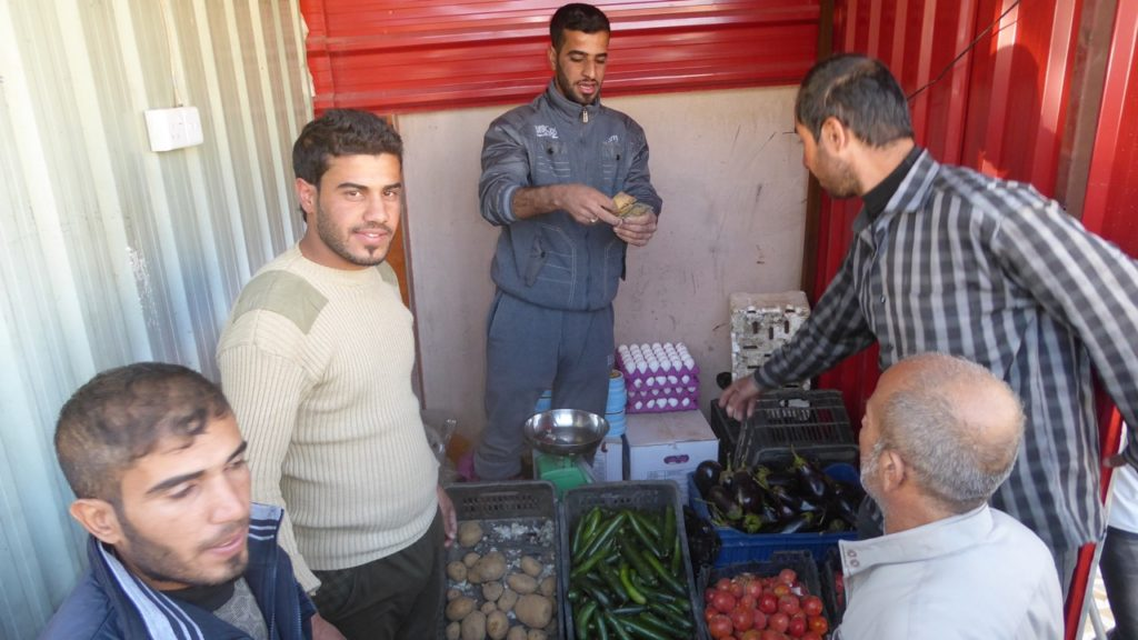 First store to reopen in SE Mosul. Photo: FBR.