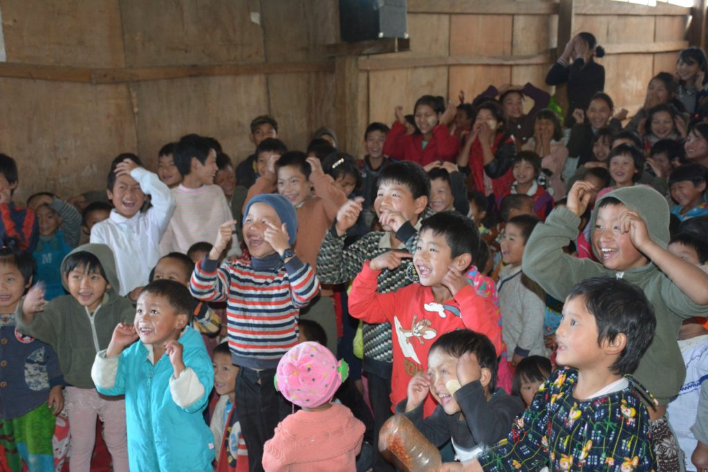 Songs and laughter at the Maga Yang GLC program. Photo: FBR.