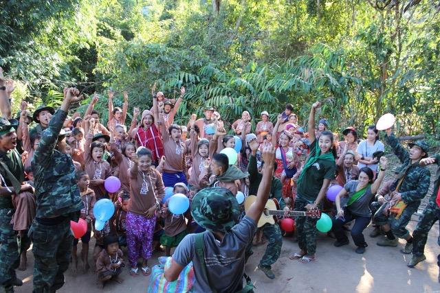 Good Life Club at a Karen village