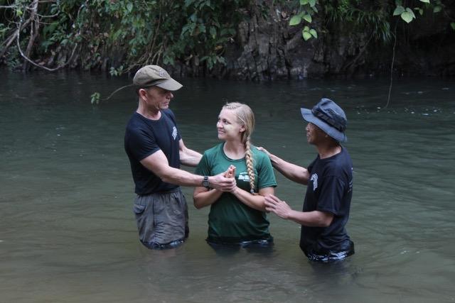 Ferrin's baptism