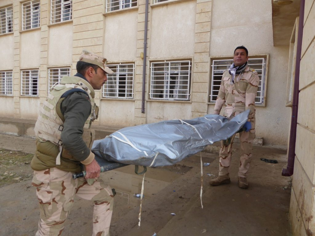 Iraqi killed by ISIS drone