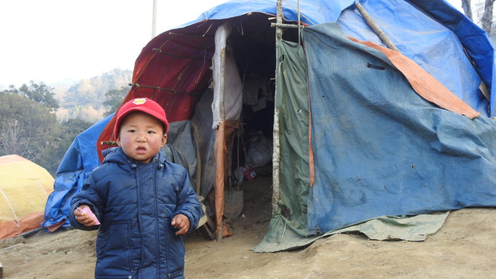 IDP child at Sha It Yang
