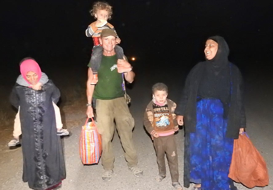 Helping a family fleeing ISIS from Mosul