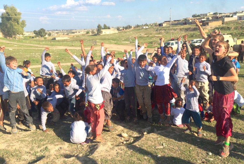 Good Life Club Program with our kids and children liberated from ISIS last month