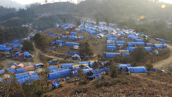 Sha It Yang IDP camp in Kachin State, Burma, 2017.
