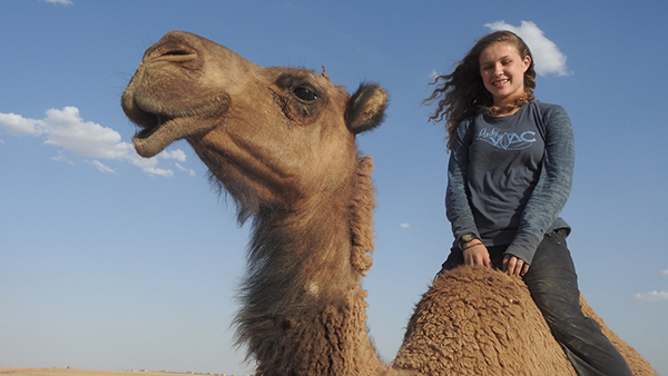 Suu and camel