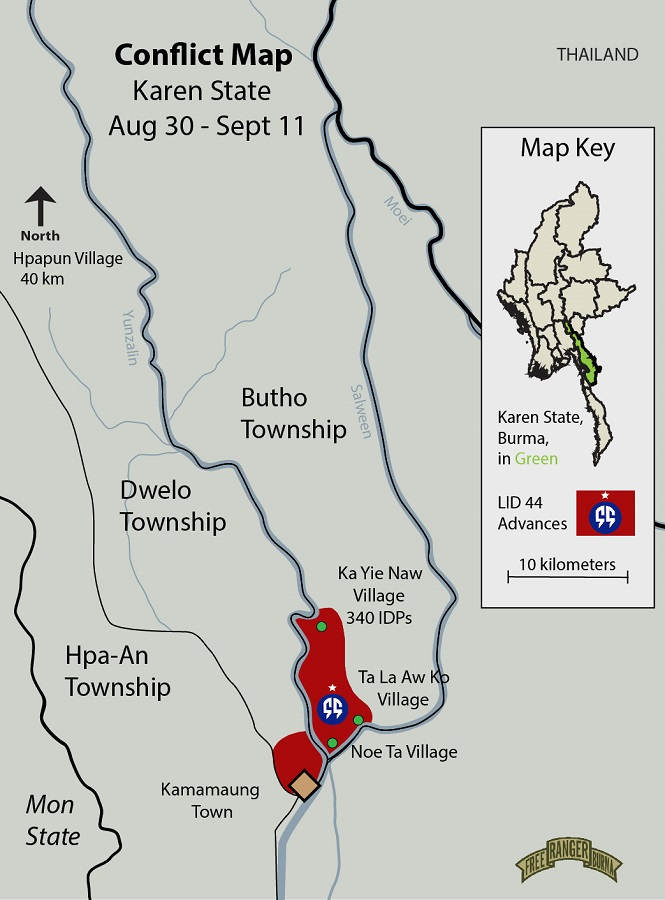 Butho District Report Update Sept 2018