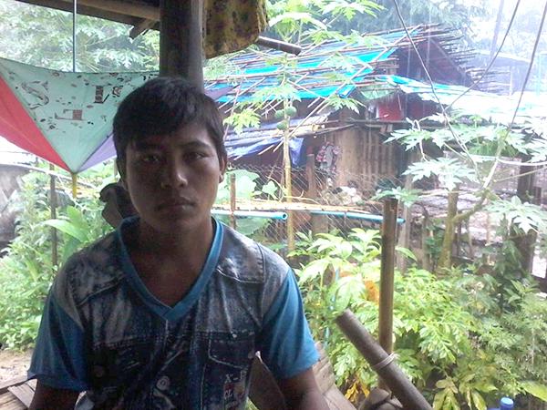 Mr. U Hweh Pin, witness to fighting between the BA and AA in Tohbwe Village.