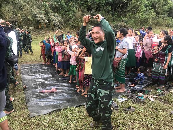 A new Ranger leads a Good Life Club program.