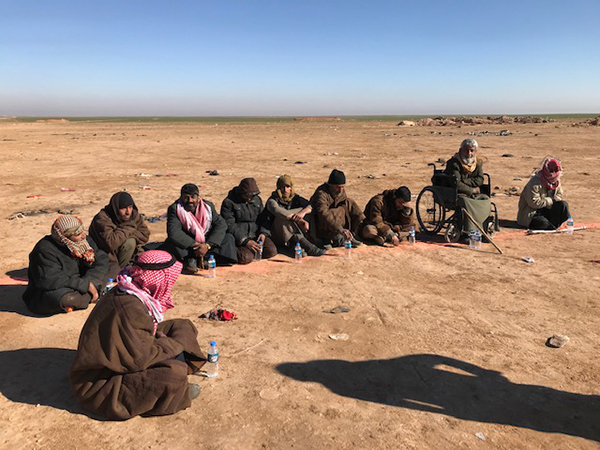 Former ISIS prisoners.