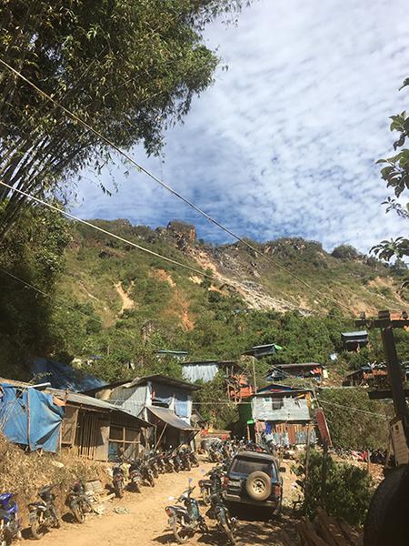 Maw Chi, a mining town in Karenni State.