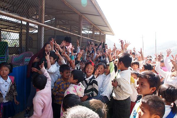 IDP kids having fun at the GLC program.