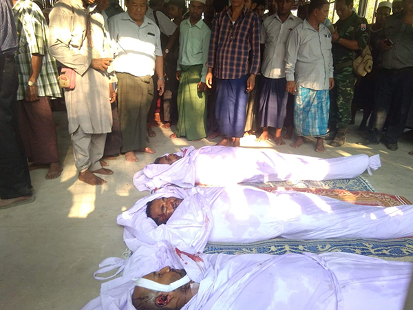 More bodies of the deceased villagers.