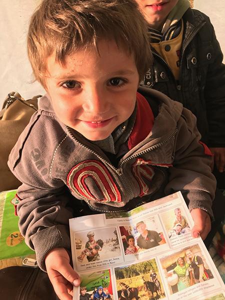 A Yezidi boy
