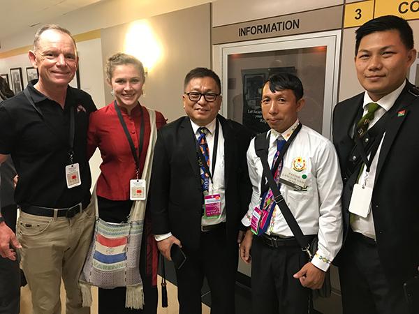 With Kachin Pastors Samson, Langjaw Gam Sang, and Gum San of the Kachin Alliance.