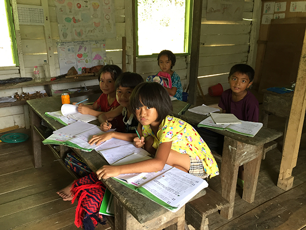 A Chin School in the Falam District.