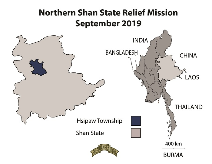 Northern Shan State Relief Mission September 2019-01-01-01