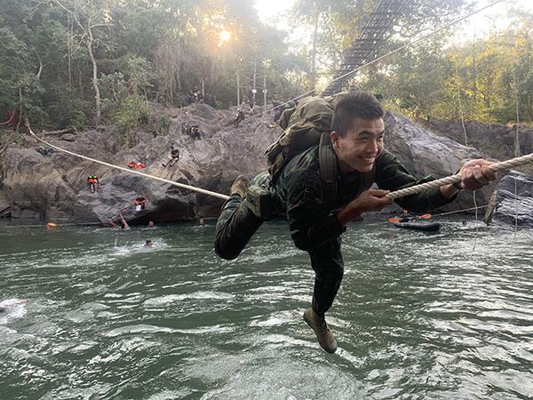 A ranger river crossing