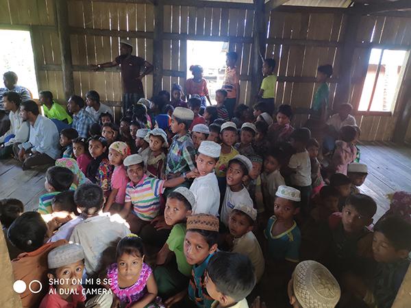 Children during a GLC program