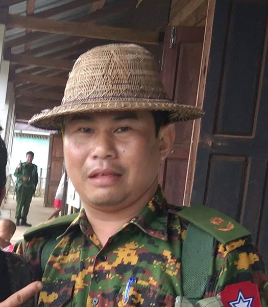 Burma Army LIB 589 Battalion Commander: Lt. Col. Htin Lin Aung