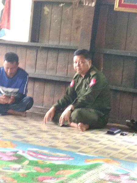 Burma Army Col. Aung Soe Mein