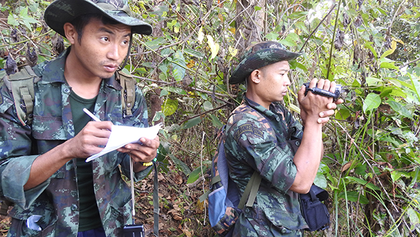 Rangers doing a recon of Maw Pu camp