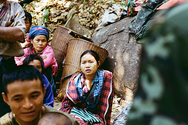 New Karen IDPs who fled Burma Army mortar attacks