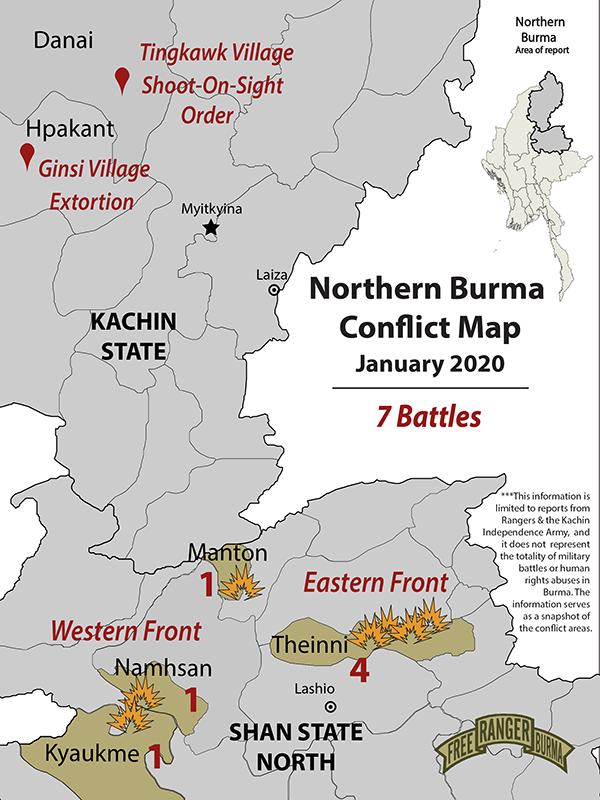 Northern Burma Clash Map January 2020-01 (2)