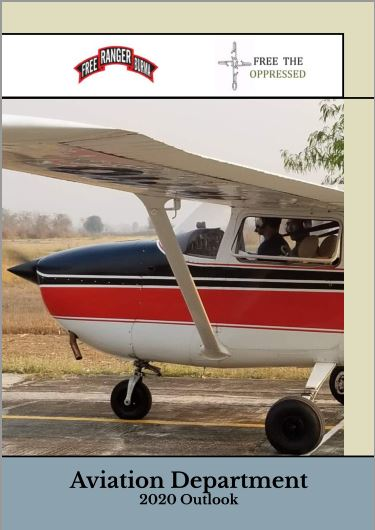 2020 Aviation Outook Report cover