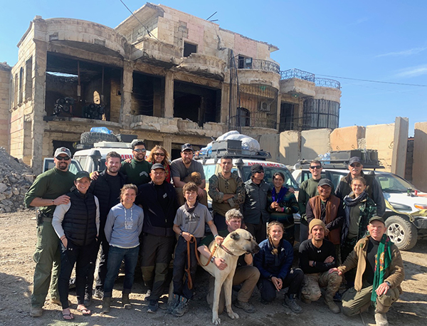 FBR team in Raqqa, Syria