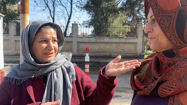 Women tell of the Turkish Army and their proxies, the Free Syrian Army, attacking Kurds and Christians in Sari Kani/ Ras Al Ayn