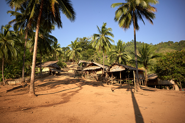 Wee Klo Village, just one of many villages who receive medical care through JSMK