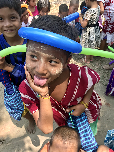 GLC programs provide villagers with a time for fun and games amidst the worry of more conflict.
