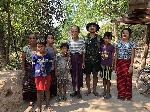 With Naw Htoo and her family