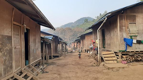 A Kachin IDP camp.
