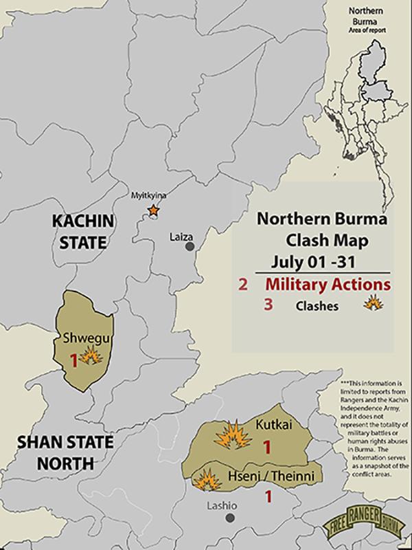 Northern Burma Clash Account July 2020