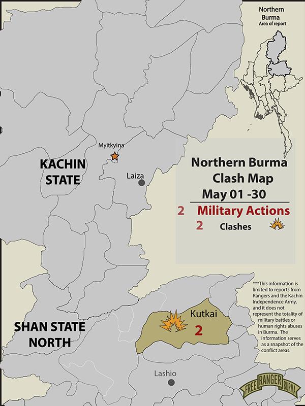 Northern Burma Clash Account May 2020