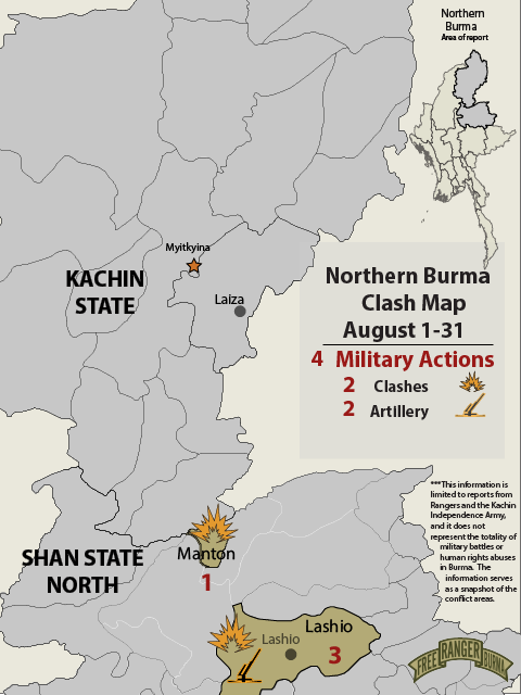 Northern Burma Clash Account August 2020