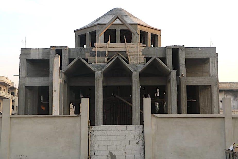 New church going up in Raqqa